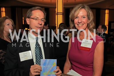 David Rogers, Tina Nicolaides Kearnes. Children's Law Center 15th Anniversary Helping Children Soar Benefit. Kennedy Center. September 21, 2011.JPG