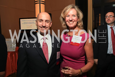 Joe Figini, Tina Nicolaides Kearnes. Children's Law Center 15th Anniversary Helping Children Soar Benefit. Kennedy Center.JPG