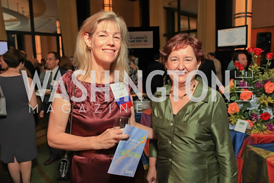 Nancy Sidamon-Eristoff, B.B. Otero. Children's Law Center 15th Anniversary Helping Children Soar Benefit. Kennedy Center.JPG