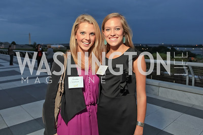 Brooke Grisebaum, Sara Bailey. Children's Law Center 15th Anniversary Helping Children Soar Benefit. Kennedy Center. September 21, 2011.JPG