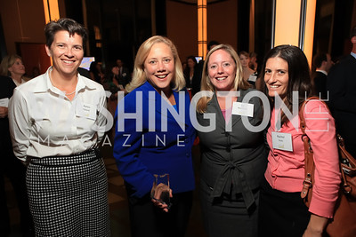 Karen Hyland, Sen. Mary Landrieu, Liz Reicherts, and Rachel Stutz. Children's Law Center 15th Anniversary Helping Children Soar Benefit. Kennedy Center.JPG