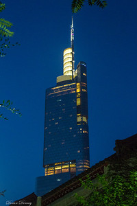 Zi Feng Tower at night