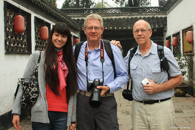 Tania from Beijing, Doran and Jim