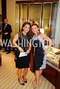 Azita Shini,Jennifer Day,VIP Reception at Chopard,Saks Tysons Corner for Joan Hisaoka Gala,September 30,2011,Kyle Samperton