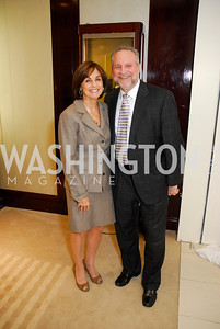 Marie Schram,Steve Schram,VIP Reception at Chopard,Saks Tysons Corner for Joan Hisaoka Gala,September 30,2011,Kyle Samperton