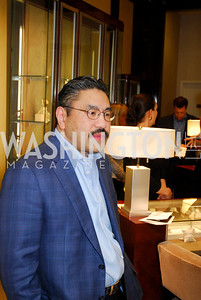 Bob Hisaoka,VIP Reception at Chopard,Saks Tysons Corner for Joan Hisaoka Gala,September 30,2011,Kyle Samperton