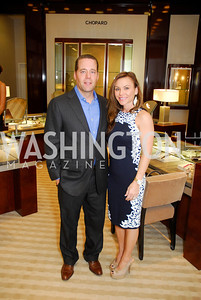 Gary Day,Jennifer Day,VIP Reception at Chopard,Saks Tysons Corner for Joan Hisaoka Gala,September 30,2011,Kyle Samperton