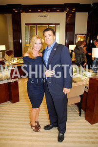 Becky Kay,Rick Kay,VIP Reception at Chopard,Saks Tysons Corner for Joan Hisaoka Gala,September 30,2011,Kyle Samperton