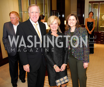 Ken Morrissette,Faye Morrissette,,Paula Hisaoka.VIP Reception at Chopard,Saks Tysons Corner for Joan Hisaoka Gala,September 30,2011,Kyle Samperton
