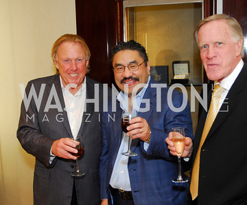Dick Patterson,Bob Hisaoka,,Ken Morrisette,VIP Reception at Chopard,Saks Tysons Corner for Joan Hisaoka Gala,September 30,2011,Kyle Samperton