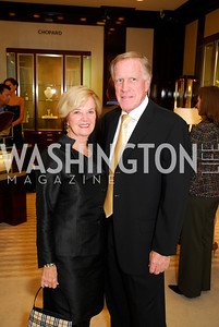 Faye Morrissette,Ken Morrissette,VIP Reception at Chopard,Saks Tysons Corner for Joan Hisaoka Gala,September 30,2011,Kyle Samperton