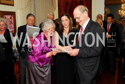 Joyce Dugger,Rachel Lunsford,Norman Scribner,March 11,2011,Choral Arts Celebration of Norman Scribner,Kyle Samperton