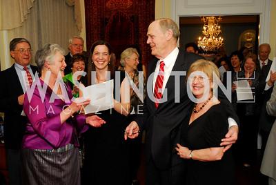 Joyce Dugger,Rachel Lunsford,Norman Scribner,Shirley Scribner,March 11,2011,Choral Arts Celebration of Norman Scribner,Kyle Samperton
