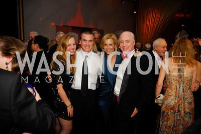 Alexa Cerf,Carter Bradley,Katherine Bradley,David Bradley,December 19,2011,Choral Arts Gala,Kyle Samperton