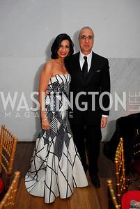 Moshira Soliman,Les Deak,December 19,2011,Choral Arts Gala,Kyle Samperton