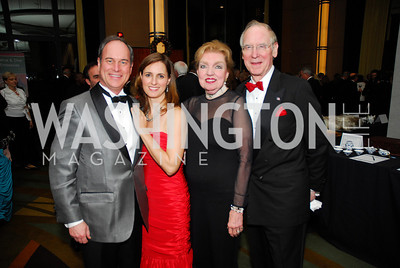 Shawn McLaughlin,Cassie McLaughlin,Fran Redmon,Gant Redmon,December 19,2011,Choral Arts Gala,Kyle Samperton