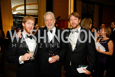 Austin Schaefer,Peter Schaefer,Clayton Schaefer,December 19,2011,Choral Arts Gala,Kyle Samperton