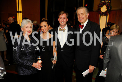 Chandler Tagliabue,Pilar O'Leary,Bill O'Leary,Paul Tagliabue,December 19,2011,Choral Arts Gala,Kyle Samperton