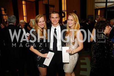 Alexa Cerf,Carter Bradley,Anna Cerf,December 19,2011,Choral Arts Gala,Kyle Samperton