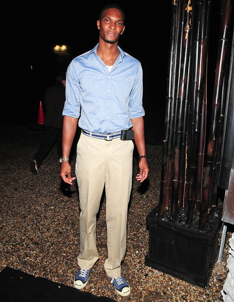 July 23 2010  Chris Bosh,   Attends  A dinner in Honor Of After School All Stars at Philippe in East Hampton (Photo by Joseph Bellantoni/In House Image)