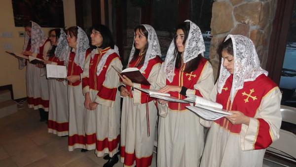 Christmas Celebration, Armenian Church of Atlanta, January 5, 2013