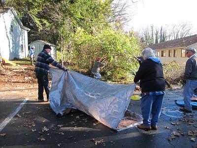church clean up 2012