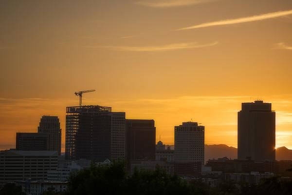 Downtown Summer Sunset