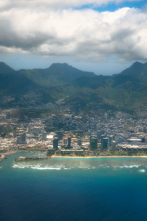 Leaving Honolulu