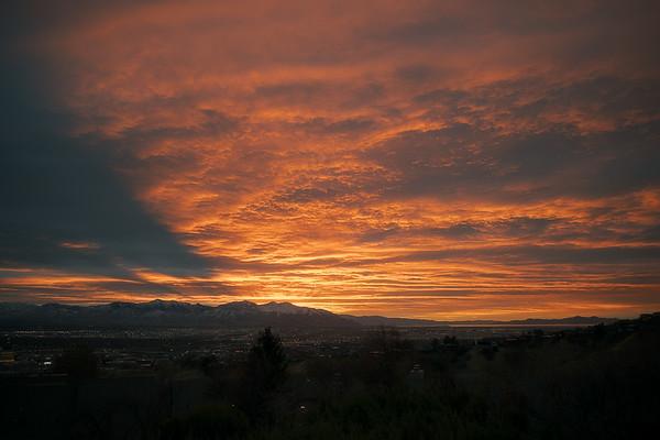 November 2020 Sunset