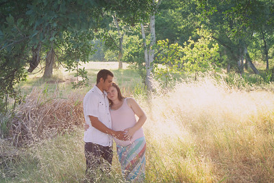 Clair and Jacob's Maternity Portraits
