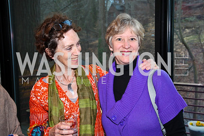 Mary-Sherman Willis, Cary Ridder. Cocktail Party to Benefit Roerich House, Mongolia. Photo by Tony Powell. Travis Price House. March 24, 2011