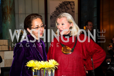 Katty Biglari, Sylvia Gottwald. Cocktail Party to Benefit Roerich House, Mongolia. Photo by Tony Powell. Travis Price House. March 24, 2011