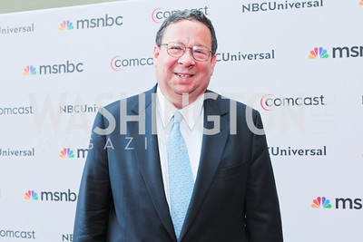 David Cohen. Photo by Alfredo Flores. Comcast's 15th Anniversary Party for MSNBC. America's Square 300 New Jersey. July 7, 2011