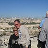 Overlooking Jerusalem, Rob and Julie Luettgen
