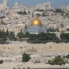 Overlooking Jerusalem, the Dome of the Rock