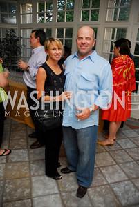 Jennifer Nordheimer, Brad Nordheimer, Cravin' Dogs Benefit for LUNGevity Foundation, May 21, 2011, Kyle Samperton