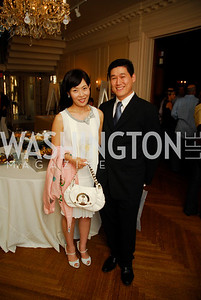 Heajin Yoon, Ki-Sung Yoon, Cravin' Dogs Benefit for LUNGevity Foundation, May 21, 2011, Kyle Samperton