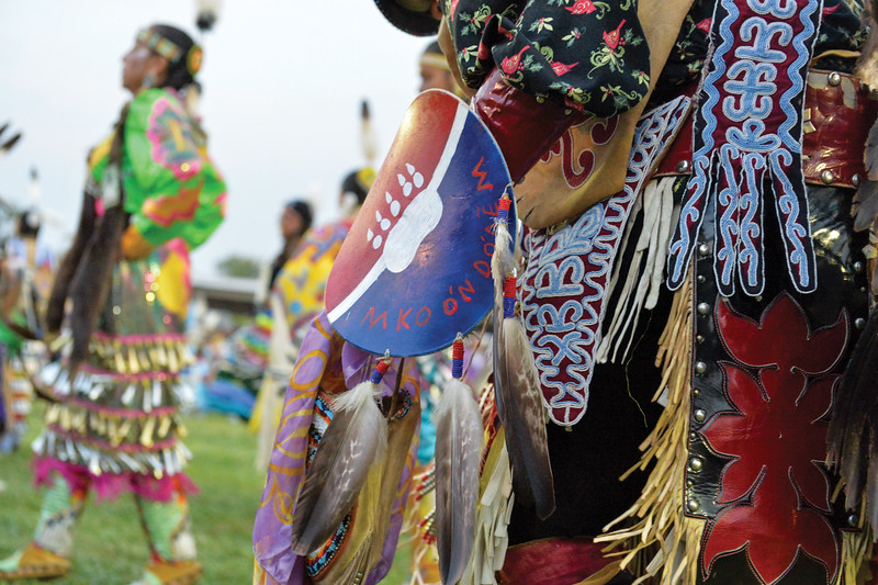 Ashleigh Fox | The Sheridan Press<br /> Native Americans from all over the nation and Canada came to celebrate the 100th Crow Fair Friday, Aug. 17, 2018.