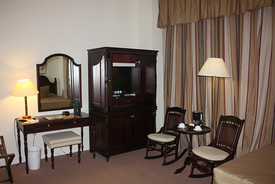 My room at the Hotel Nacional