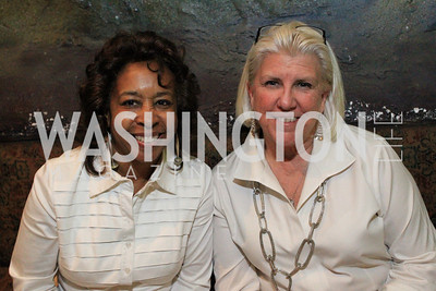 Shauna Stallworth, Dorlise O'Hara. DC Jazz Festival's Eliane Elias Performance at Bohemian Caverns. Photo by Alfredo Flores. April 7, 2011
