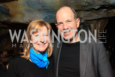 Pam Kaplan, Paul Kaplan. DC Jazz Festival's Eliane Elias Performance at Bohemian Caverns. Photo by Alfredo Flores. April 7, 2011