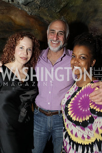 Board Members, Michelle Galler and Ron Cohen with Executive Director, Sunny Sumter. DC Jazz Festival's Eliane Elias Performance at Bohemian Caverns. Photo by Alfredo Flores. April 7, 2011
