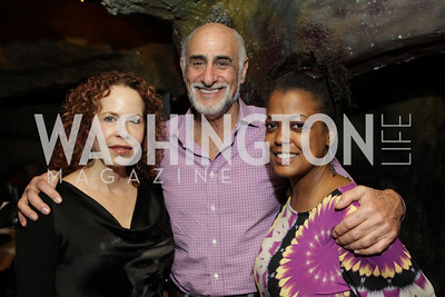 Board Members Michelle Galler and Ron Cohen with DC Jazz Festival Executive Director Sunny Sumter. DC Jazz Festival's Eliane Elias Performance at Bohemian Caverns. Photo by Alfredo Flores. April 7, 2011