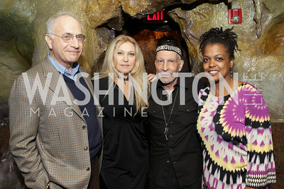 Board Chairman Michael Sonnenreich, Brazilian Vocalist/Pianist Eliane Elias, Executive Producer Charles Fishman, Executive Director Sunny Sumter. DC Jazz Festival's Eliane Elias Performance at Bohemian Caverns. Photo by Alfredo Flores. April 7, 2011