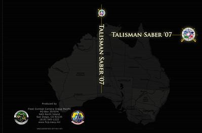 Talisman Saber '07 DVD Case Sleeve