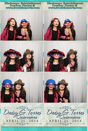 Daisy G. Torres Quinceanera - Photo Booth Pictures