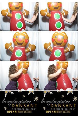 Dansant Photobooth Strips