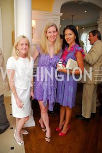 Laura Pennington, Anne Wise, Carolina DeSouza, David Wise Book Party, June 8, 2011, Kyle Samperton