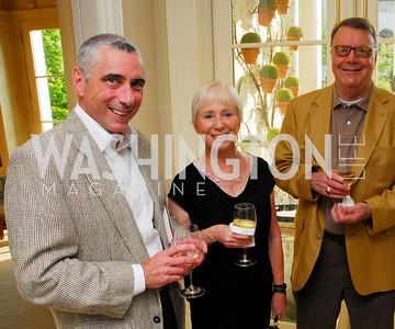 Tom Frail, Janine Brookner, Colin Thompson, David Wise Book Party, June 8, 2011, Kyle Samperton