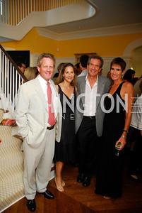 Peter Arundel, Brady Arundel, Ankie Barnes, Fran Barnes, David Wise Book Party, June 8, 2011, Kyle Samperton